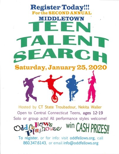Teen Talent Search Poster