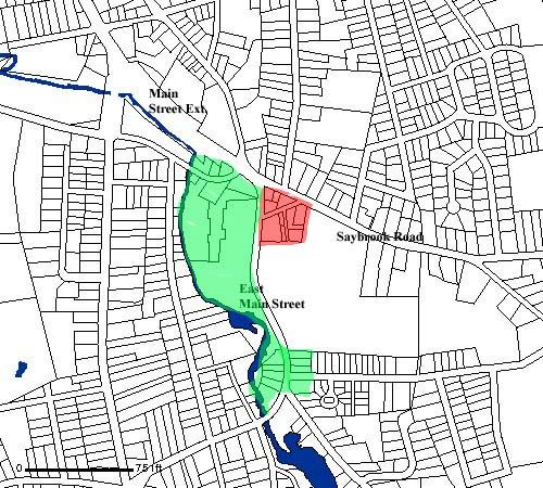 Sumner Brook Redevelopment Map