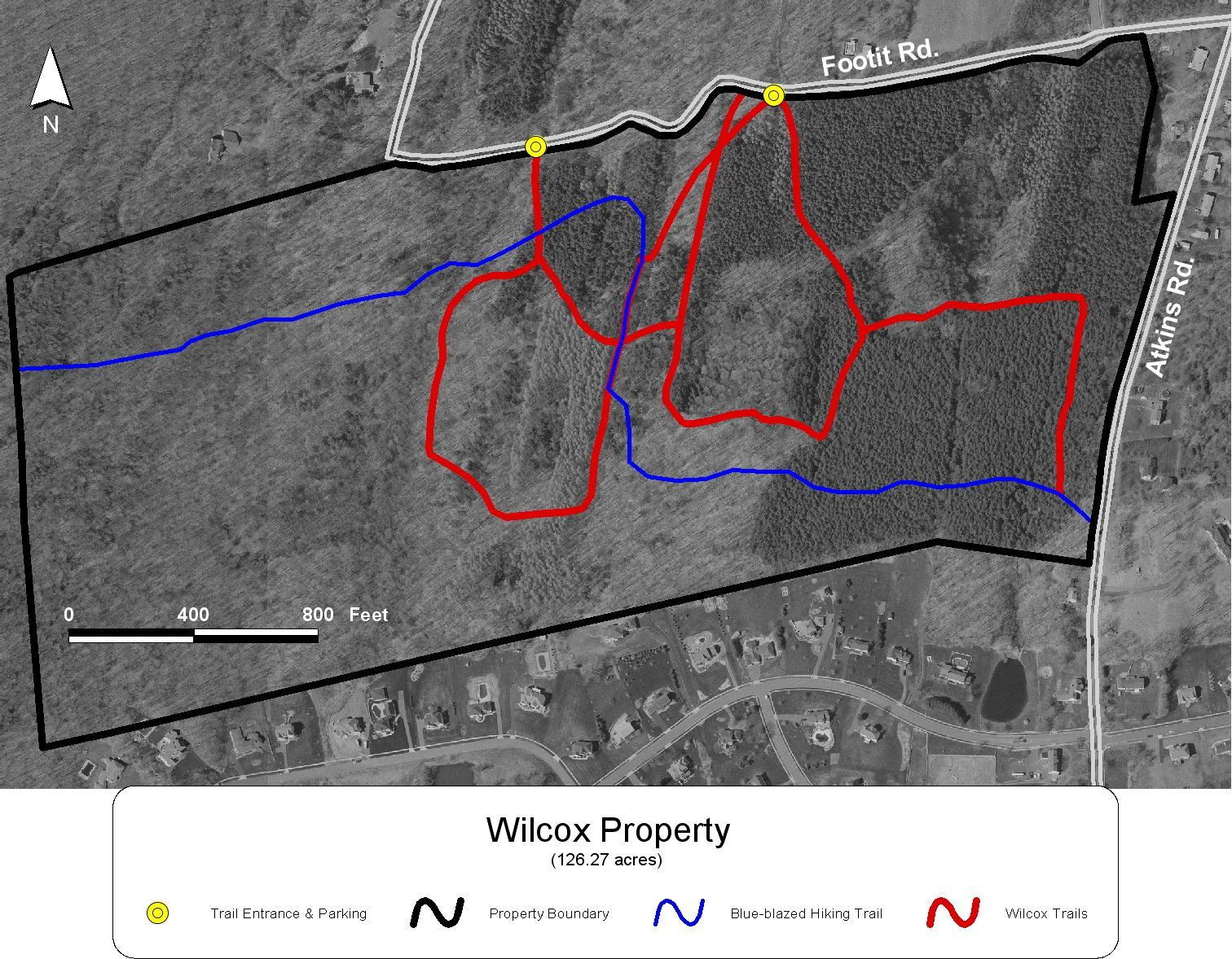 Wilcox Property Aerial Photo Map
