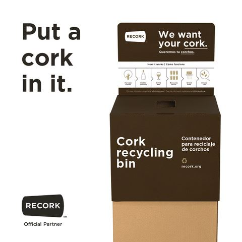 Cork Recycling Box