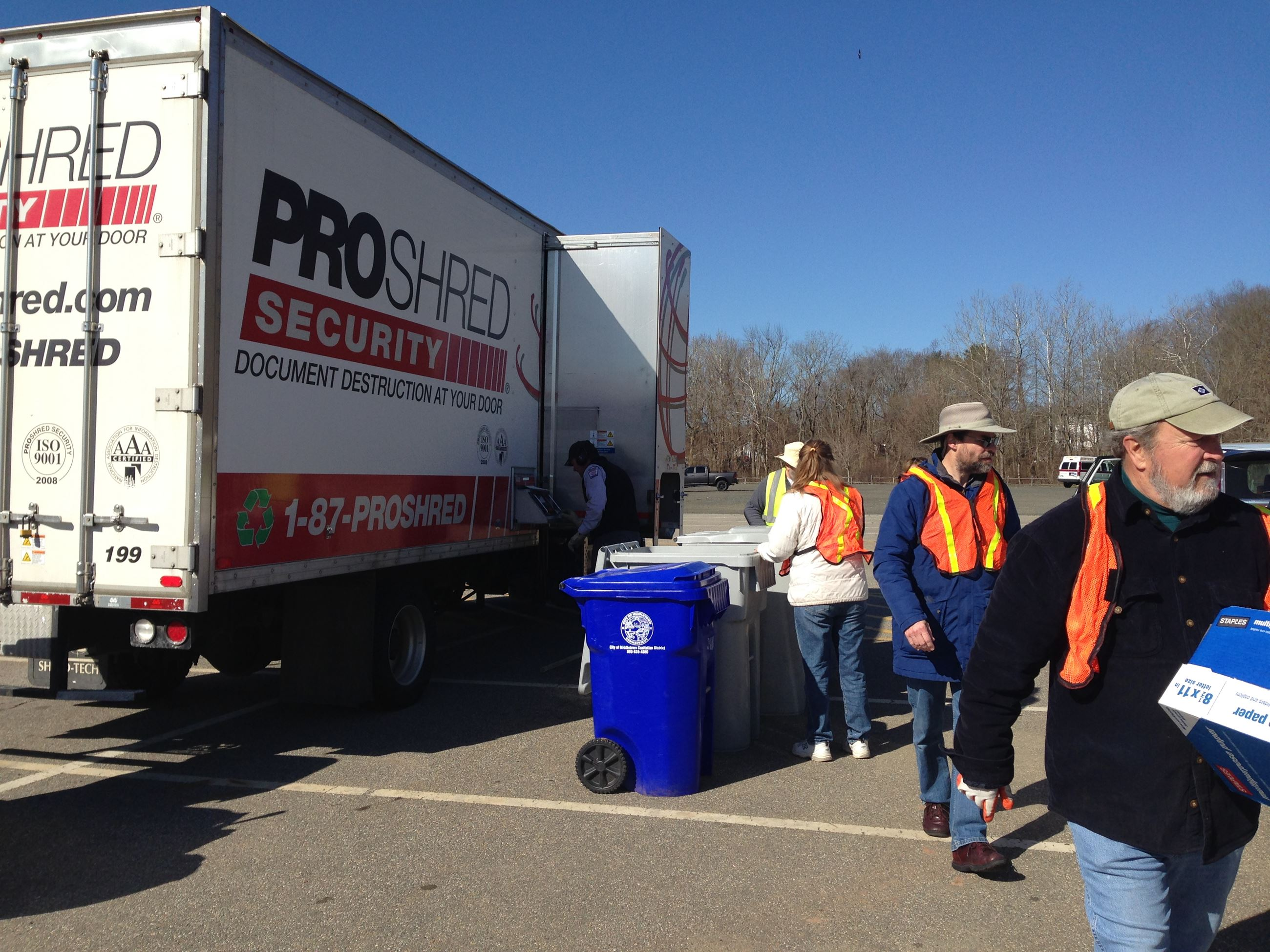 Middletown Shred Event 2018