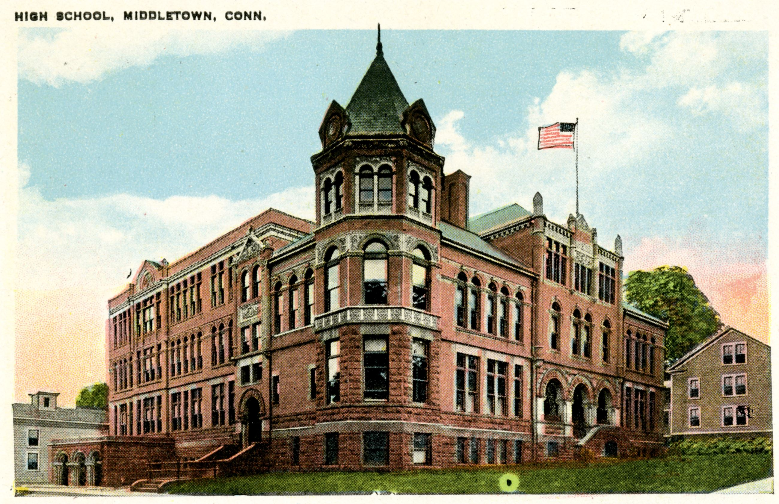 Historical Image of Middletown High School