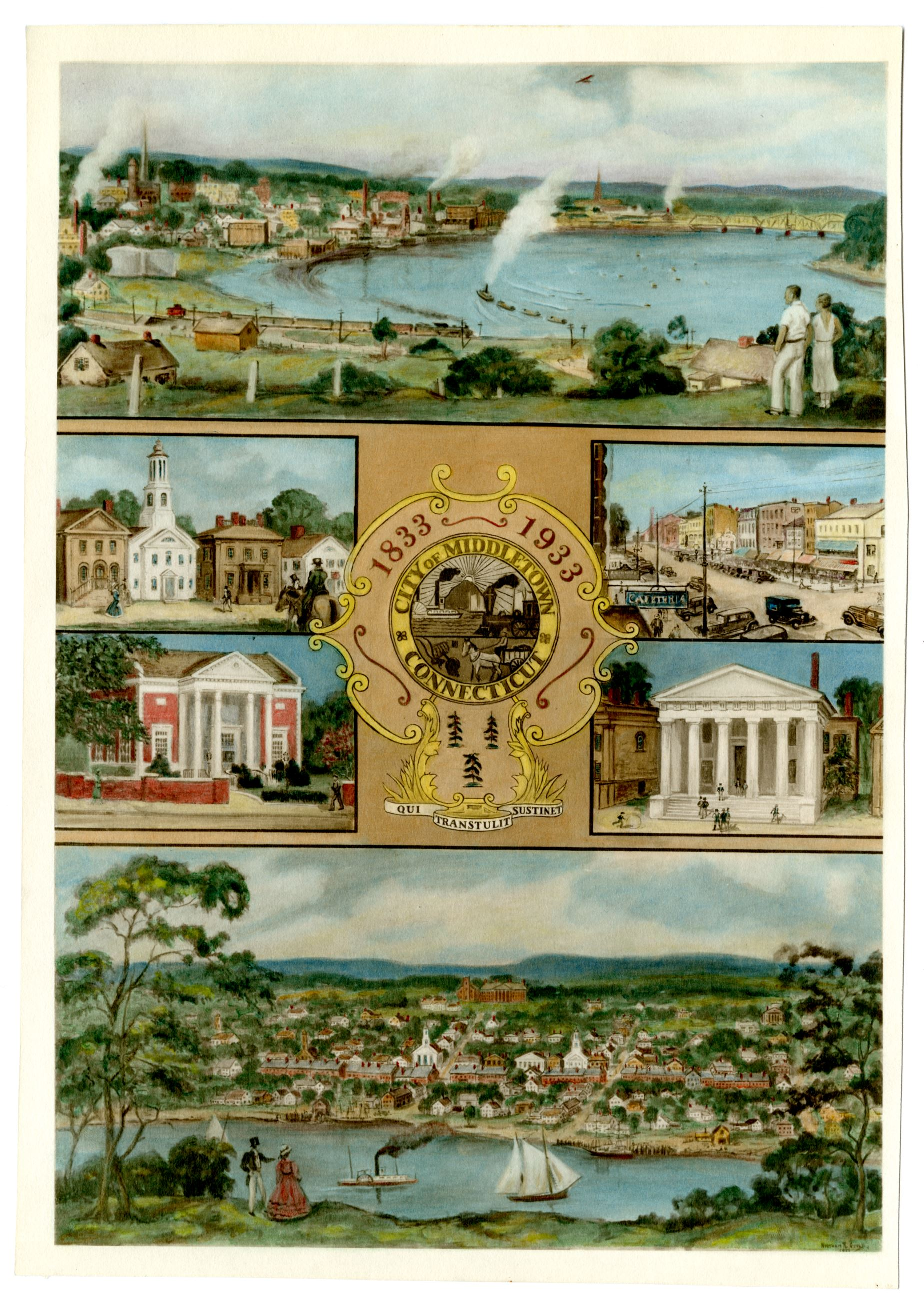 Historical Image of Middletown Anniversary Collage