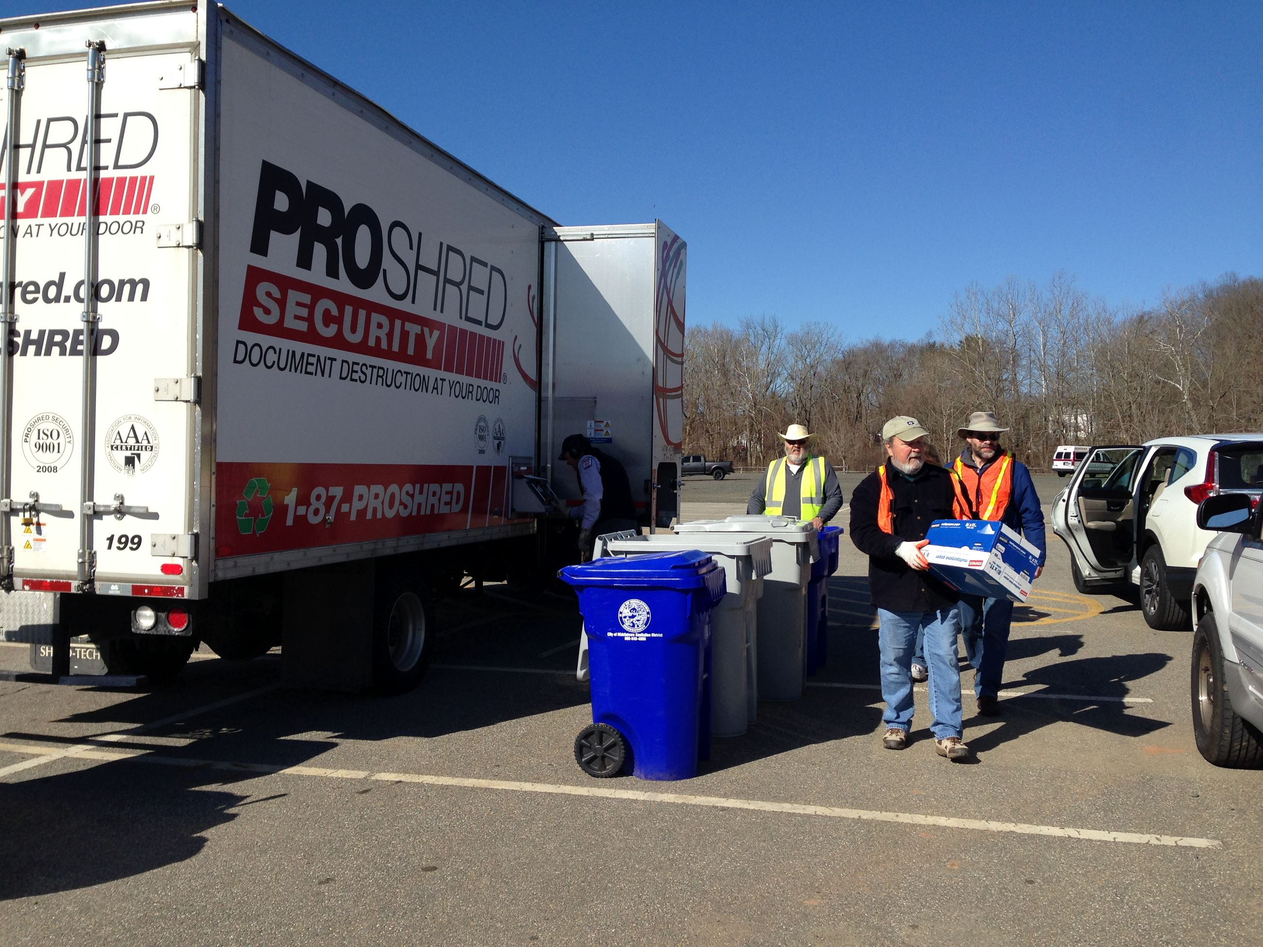 Paper Shred Event