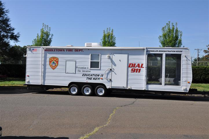 Fire Department Education Trailer