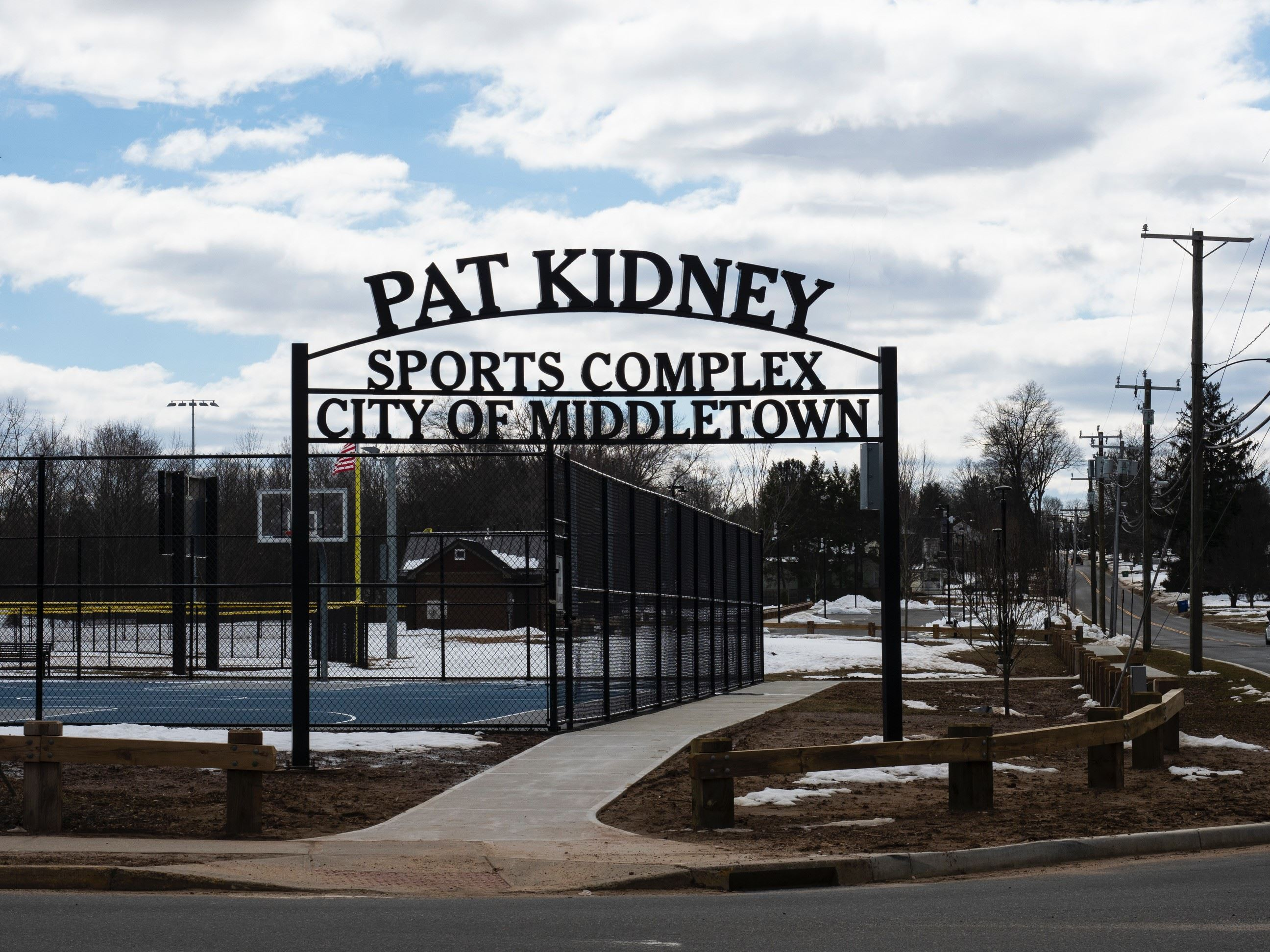 Entrance to Pat Kidney Field (Photo Credit: Lynn Baldoni)