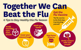 together we can beat the flu